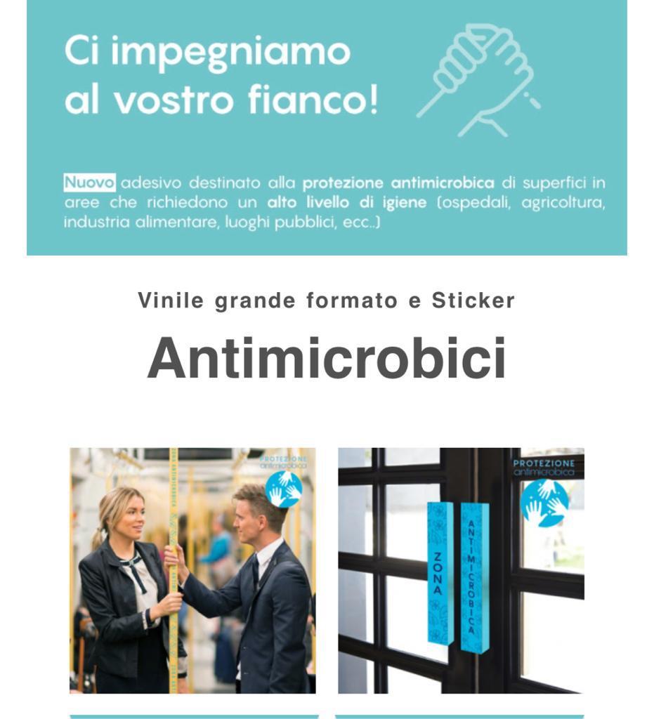 Novità: Vinile Pvc Antibatterico Adesivo!